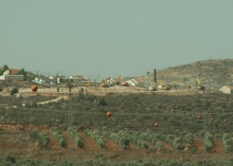 חפירת יסודות ל-20 מבנים בשבות רחל