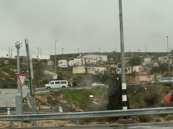 Givat Assaf Outpost - On Private Palestinian Lands