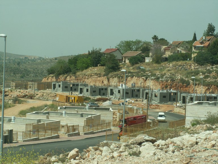 The illegal construction in Shilo - now to be approved
