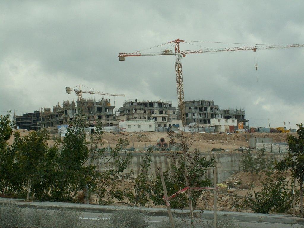Construcion in Ma'ale Adumim