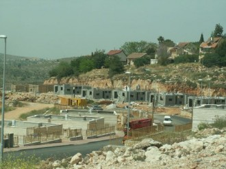 Illegal construction in Shilo