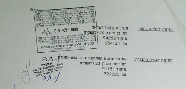 חתימת אברמוביץ
