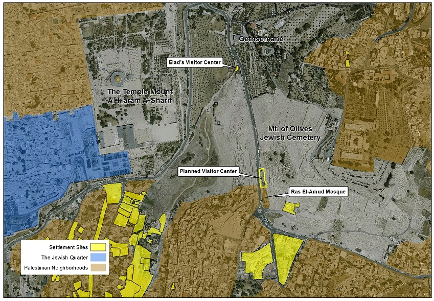 Fast Track Planning for a Visitor Center in The Mount of Olives ...