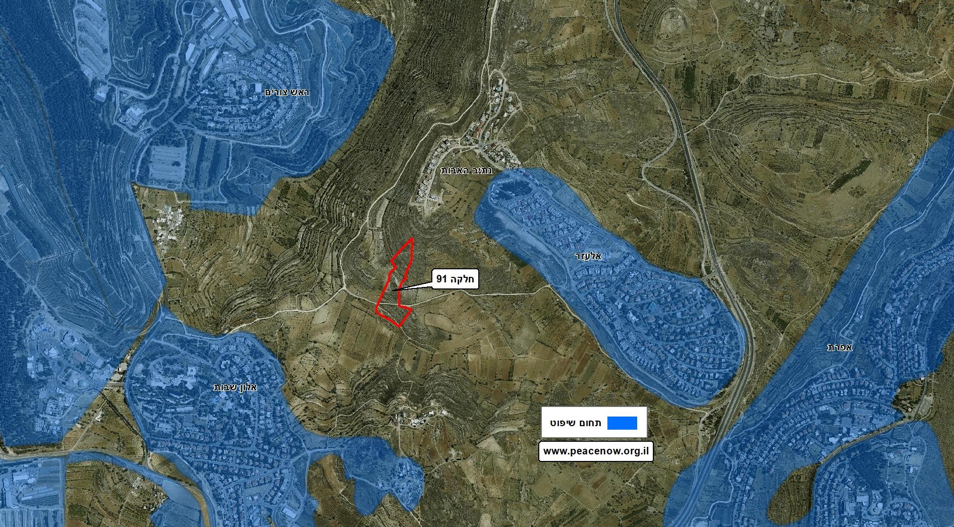 New Settlement for Netiv Haavot Parcel 91
