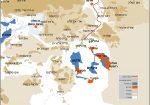 מפת כביש ליברמן מוקטן עברית