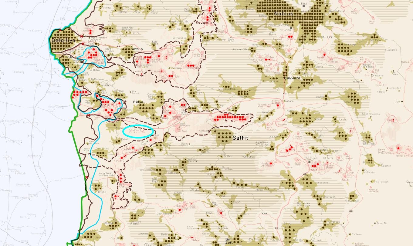 מפת מיקום שחרית, אנגלית Shacharit