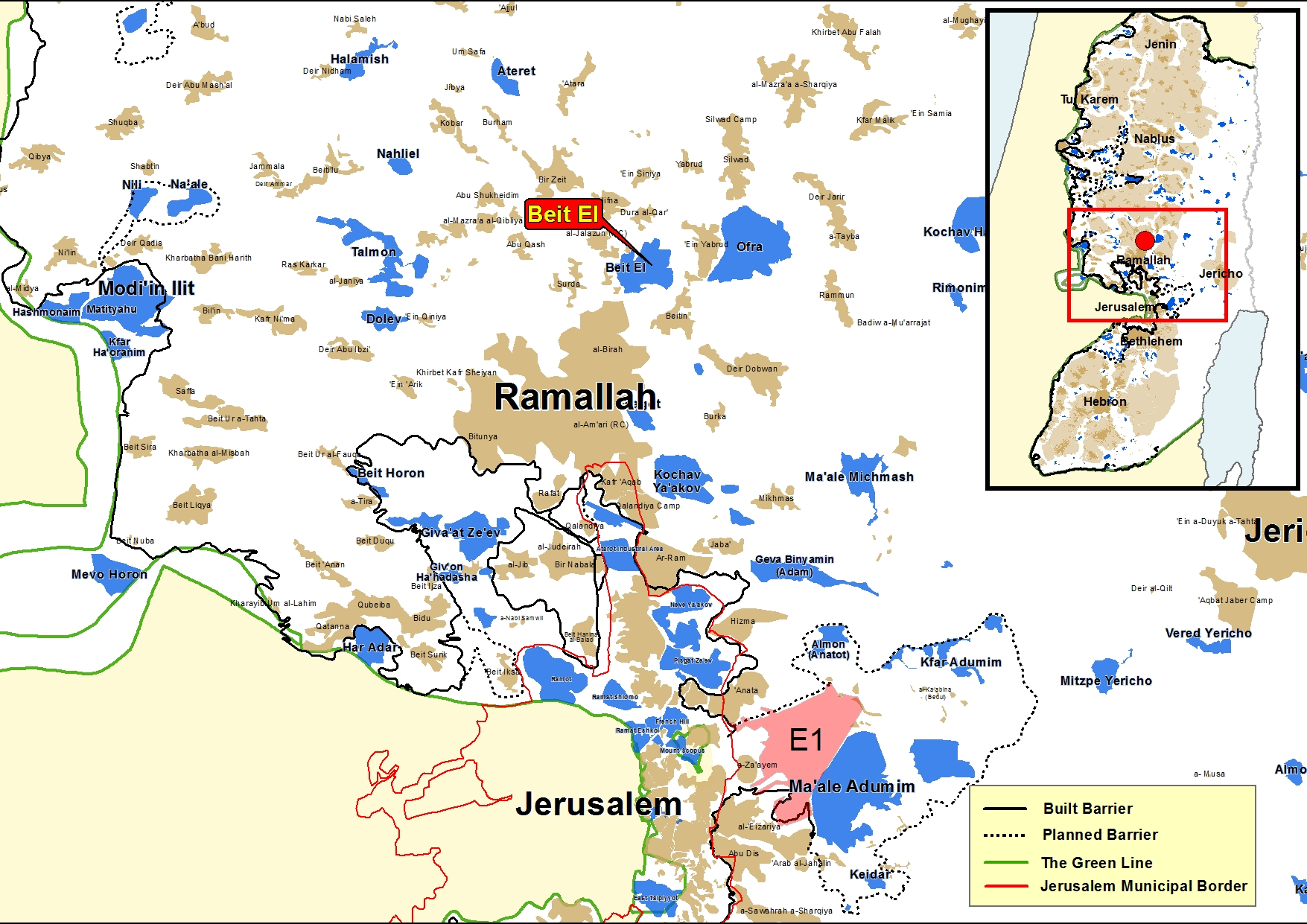 Beit Hebrew: The Government Approves 296 Units In Beit El