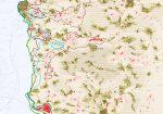 מפת מיקום שחרית עברית